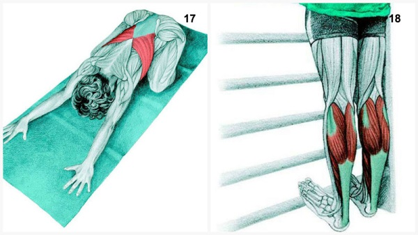 estiramientos musculares pose del niño