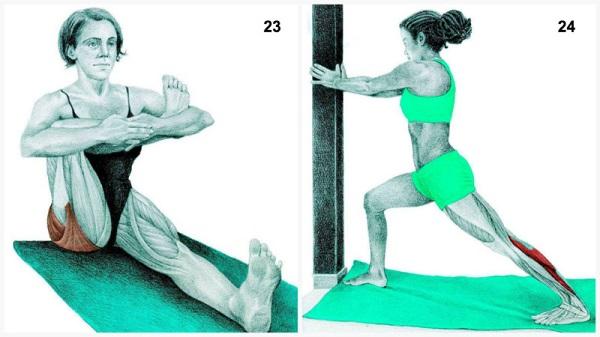 estiramientos musculares postura paloma