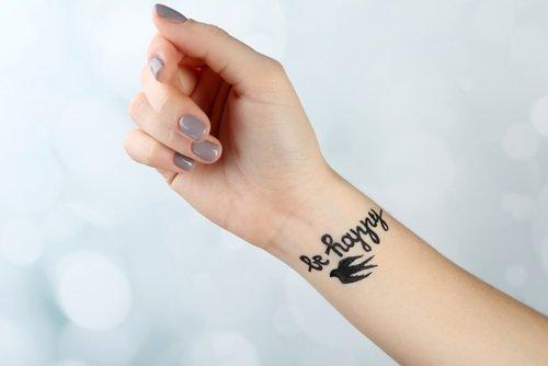 Frase para tatuar en el brazo