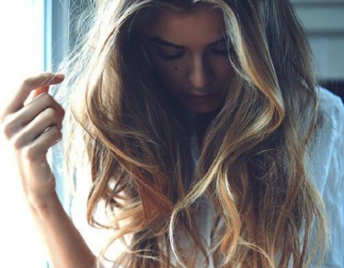 peinado suelto balayage