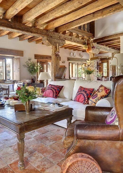 muebles antiguos también forman parte del diseño de las casas o cabañas rusticas