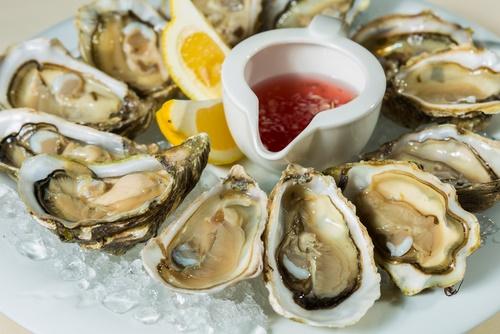 en deficiencia de zinc comer ostras