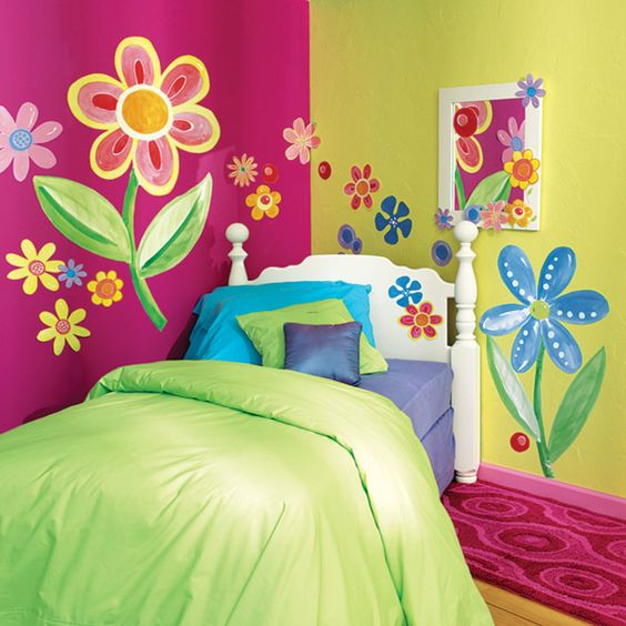 paredes con alto contraste para los más pequeños