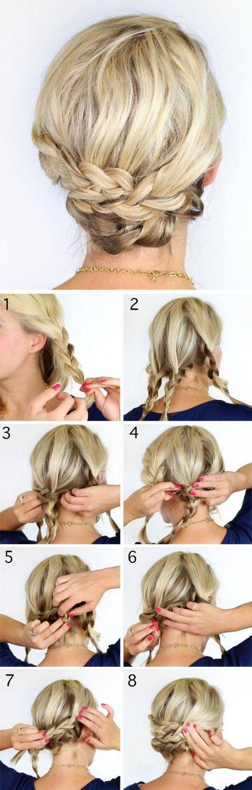 Recogidos bajos para novias peinados recomendados - Peinados recogidos con trenzas ...