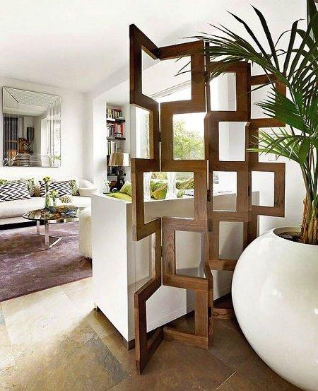 30 ideas de separadores de espacios para la casa