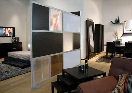 30 ideas de separadores de espacios para la casa. Black Bedroom Furniture Sets. Home Design Ideas