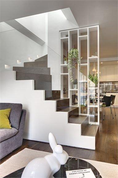 separadores de espacios escalera
