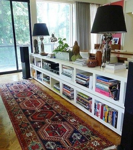 separadores de espacios libreros