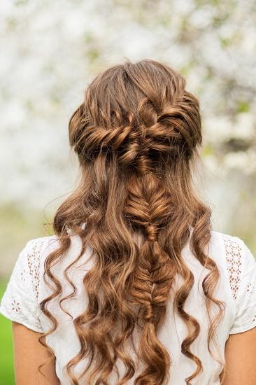 peinados para bodas trenzas