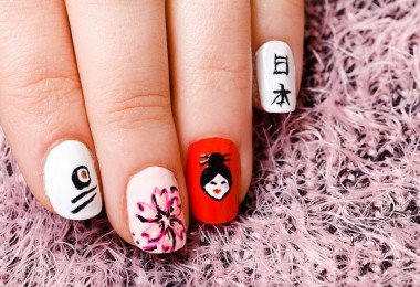 uñas decoradas tendencia 2016