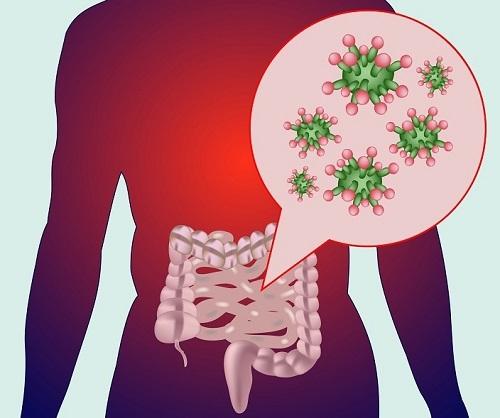 masajes bacterias intestinos