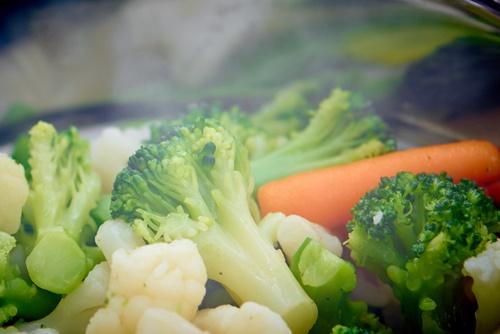 alimentos cero calorías alimentos al vapor