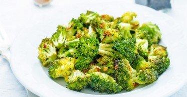Brócoli frito