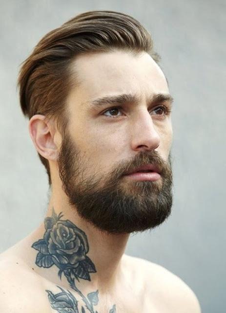 Estilo clásico de la barba hípster