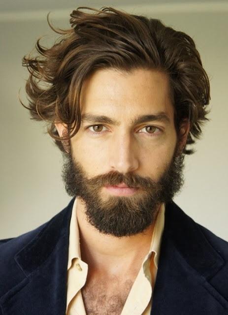 Un estilo de barba más desprolija