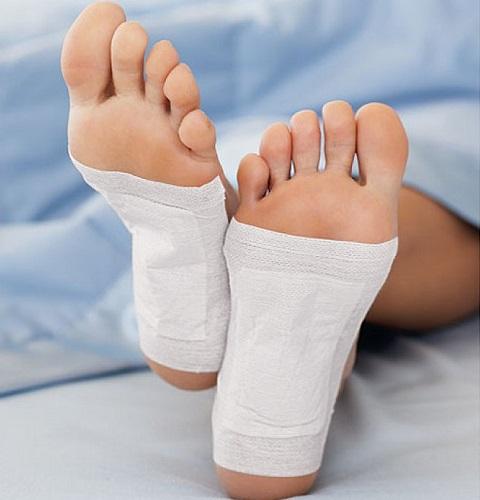 almohadillas para los pies desintoxicar