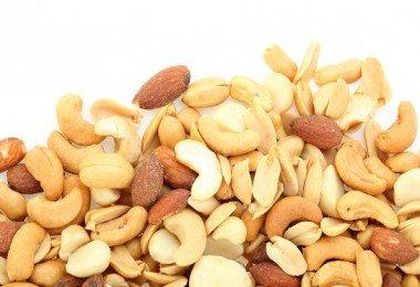 anacardos cacahuates frutos secos