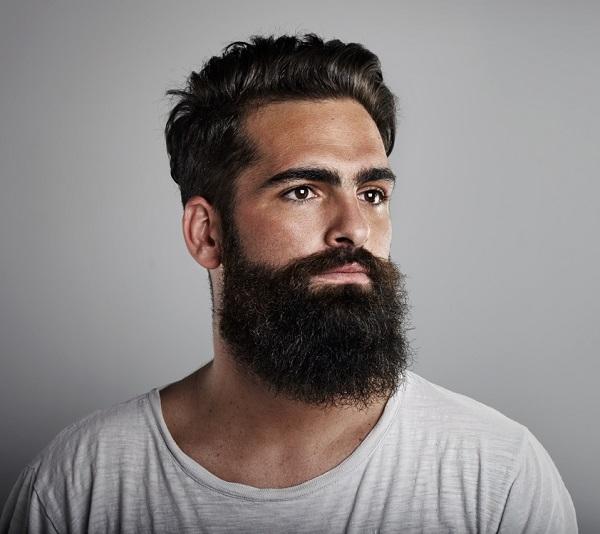 estilo de barba hipster o barba de leñador
