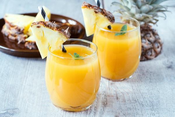 curar el refriado con jugo de piña