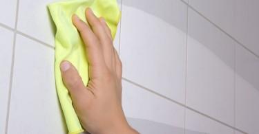limpiar la junta de los azulejos