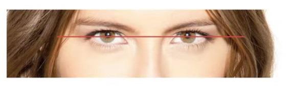 maquillaje para disimula prueba de ojos encapuchados