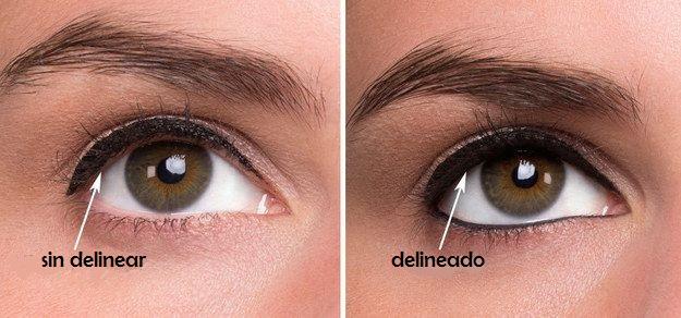 maquillaje para disimular ojos hinchados
