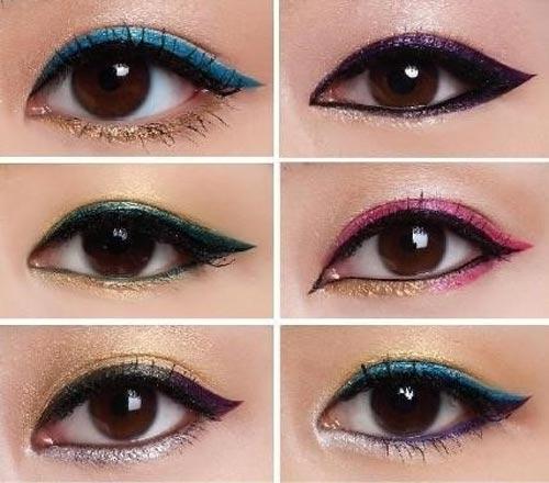 maquillaje para disimular ojos papujados