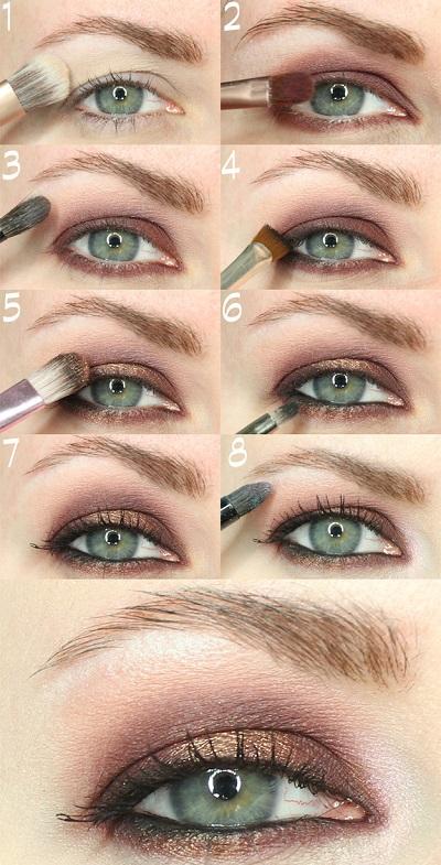 maquillaje para disimular sombras