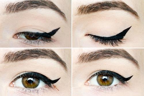 7 trucos de maquillaje para disimular los p rpados ca dos - Ojos ahumados para principiantes ...