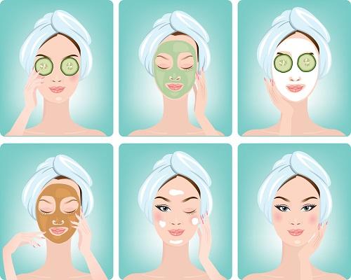 mascarillas para revertir la piel grasa