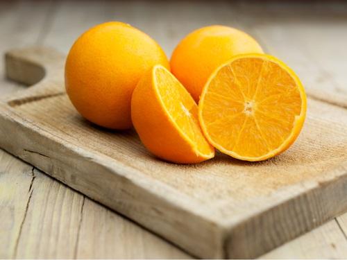 alimentos saludables sin grasa naranjas