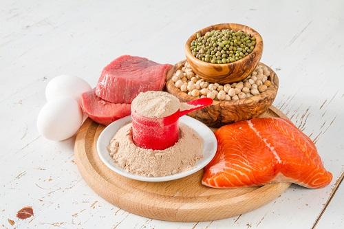 antojos de comida proteína