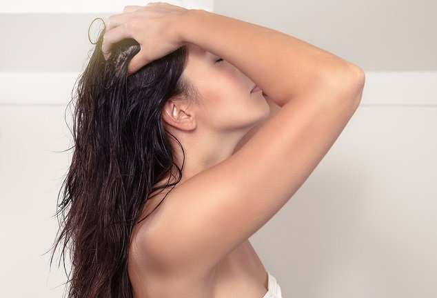 aceite de amla para el cabello