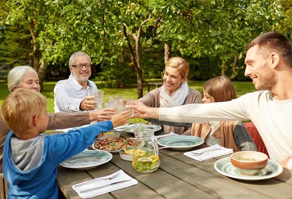 comida en familia mejora el comportamiento en los niños