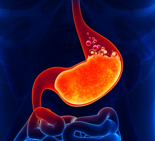 enzimas digestivas reflujo