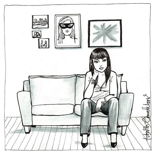 vivir sola pensando