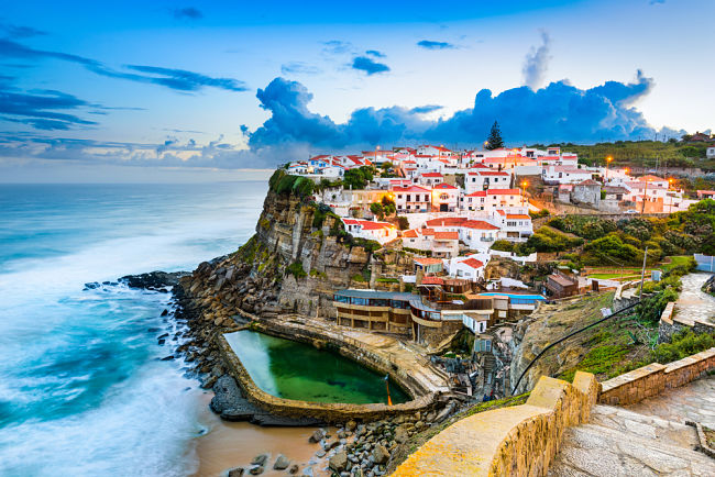 Azenhas do Mar, Sintra Lisboa