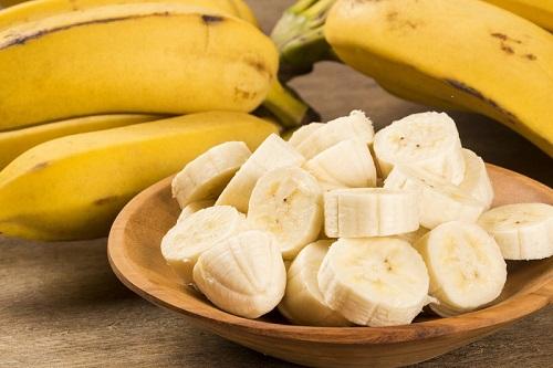 pay de mantequilla de maní con banana