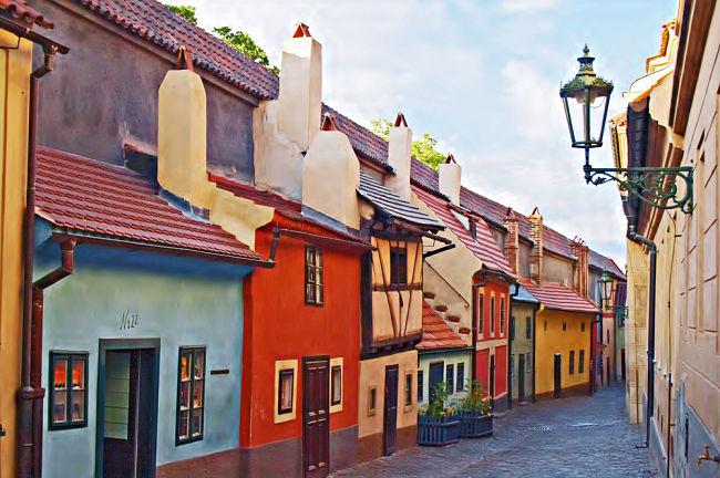 Calles de la ciudad de Praga