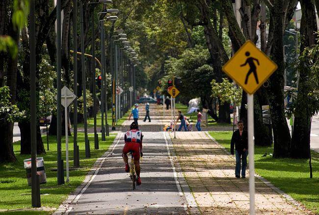 Ciclovía en Bogotá, Colombia