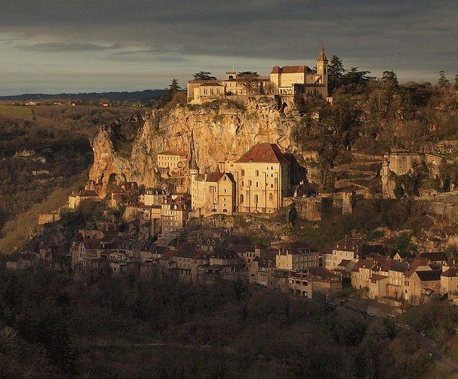 El encanto de Rocamadour, Francia