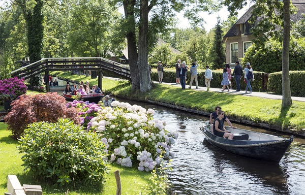 Giethoorn, Holanda paseos