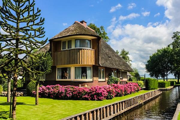 Giethoorn, Holanda canales