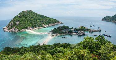 Isla de Koh Tao en Tailandia