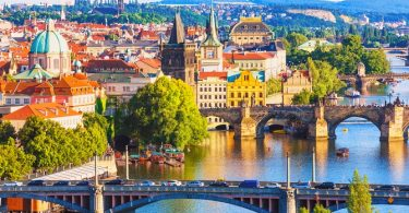 La bohemia región de Praga