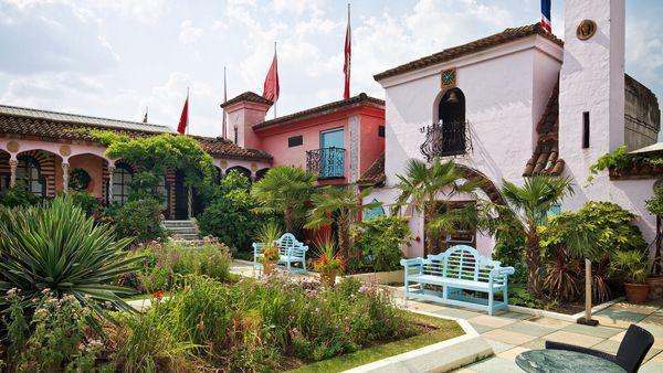 Lugares secretos de Londres, diseño de jardines con estilo español