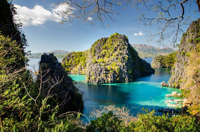 Mágico paisaje de Filipinas