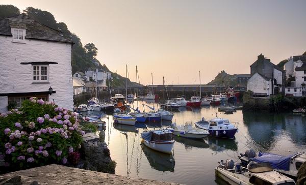 Pueblos para visitar Polperro, Cornwall, Inglaterra
