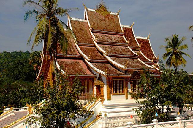 Templo en Laos, Asia.