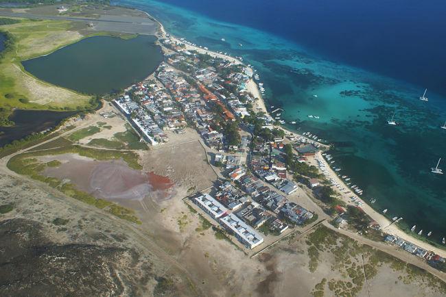 Vista panorámica del archipielago de los Roques